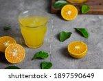Es Jeruk Peras Or Orange Juice...