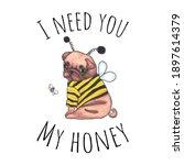 Lettering  Honey. Loving...
