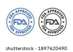 Fda Approved Logo Template...