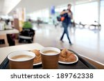 a large group of arriving... | Shutterstock . vector #189762338