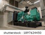 Generator room emergency power...