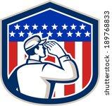 illustration of an american... | Shutterstock . vector #189768833