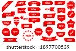 sticker tag new ribbon icon... | Shutterstock .eps vector #1897700539