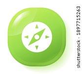 compass icon. vector...