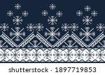 geometric ethnic pattern... | Shutterstock .eps vector #1897719853