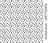vector black dot pattern on... | Shutterstock .eps vector #1897734946