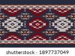 ethnic abstract background.... | Shutterstock .eps vector #1897737049