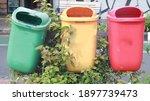 Trash Can Dustbin Rubbish Bin...