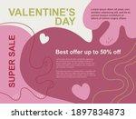 vector illustration. pink  red  ...   Shutterstock .eps vector #1897834873