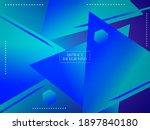 abstract geometric gradient...   Shutterstock .eps vector #1897840180