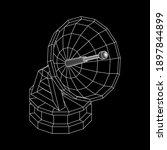 radar. directional radio...   Shutterstock .eps vector #1897844899