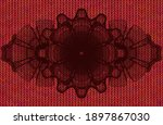 linear currency red color...   Shutterstock .eps vector #1897867030