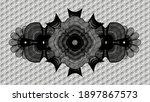 linear grey hexagon style...   Shutterstock .eps vector #1897867573