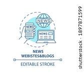 news websites and blogs concept ...   Shutterstock .eps vector #1897871599