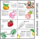 web presentation template... | Shutterstock .eps vector #1897897180