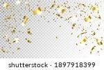 gold confetti background vector....   Shutterstock .eps vector #1897918399