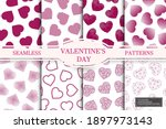 collection of seamless patterns ... | Shutterstock .eps vector #1897973143