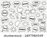 set of speech bubbles. set of... | Shutterstock .eps vector #1897984549