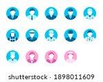 Circular Worker Avatar Icon...
