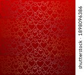 red background with gold and... | Shutterstock . vector #1898096386