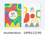 kids arts logo and stationery...   Shutterstock .eps vector #1898112190