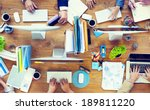 group of business people... | Shutterstock . vector #189811220