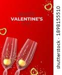 happy valentine's day flyer.... | Shutterstock .eps vector #1898155510