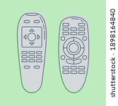 Two Object Hand Remote Control. ...