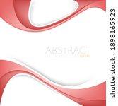 red vector background overlap...   Shutterstock .eps vector #1898165923