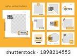 social media template banner... | Shutterstock .eps vector #1898214553
