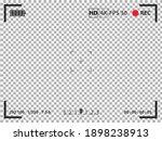 camera viewfinder. focusing... | Shutterstock .eps vector #1898238913