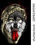 Wolf In The Dark Night