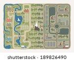 eco city | Shutterstock .eps vector #189826490