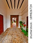Small photo of Enfilade in the Courtyard of Spanish House