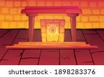 magic ancient egypt portal with ... | Shutterstock .eps vector #1898283376
