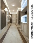 interior of modern corridor | Shutterstock . vector #189829436