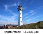 lighthouse in egmond  netherland | Shutterstock . vector #189831638