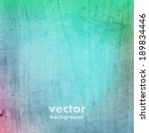 grunge retro vintage wooden... | Shutterstock .eps vector #189834446