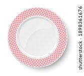 empty classic white vector... | Shutterstock .eps vector #1898361676