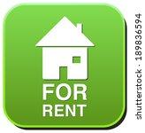 for rent sign | Shutterstock . vector #189836594