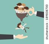 recruitment concept   job... | Shutterstock .eps vector #189838700