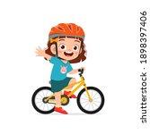 happy cute little girl boy... | Shutterstock .eps vector #1898397406