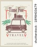 time for travel grunge... | Shutterstock . vector #1898403679