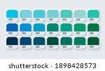 pantone colour guide palette... | Shutterstock .eps vector #1898428573