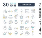 father's day. collection of... | Shutterstock .eps vector #1898437156