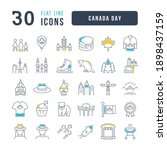 canada day. collection of... | Shutterstock .eps vector #1898437159