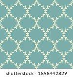 dusty green blue and beige... | Shutterstock .eps vector #1898442829
