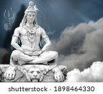 3d Wallpaper Lord Shiv With...