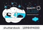quality sleep   flat design...   Shutterstock .eps vector #1898494000