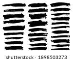 collection of black brush... | Shutterstock .eps vector #1898503273